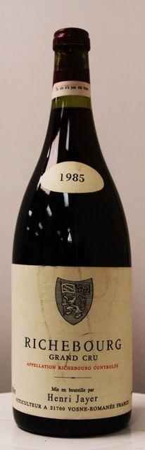 Henri Jayer, Richebourg 1985, Grand Cru, Vosne Romanée, Cote de Nuits