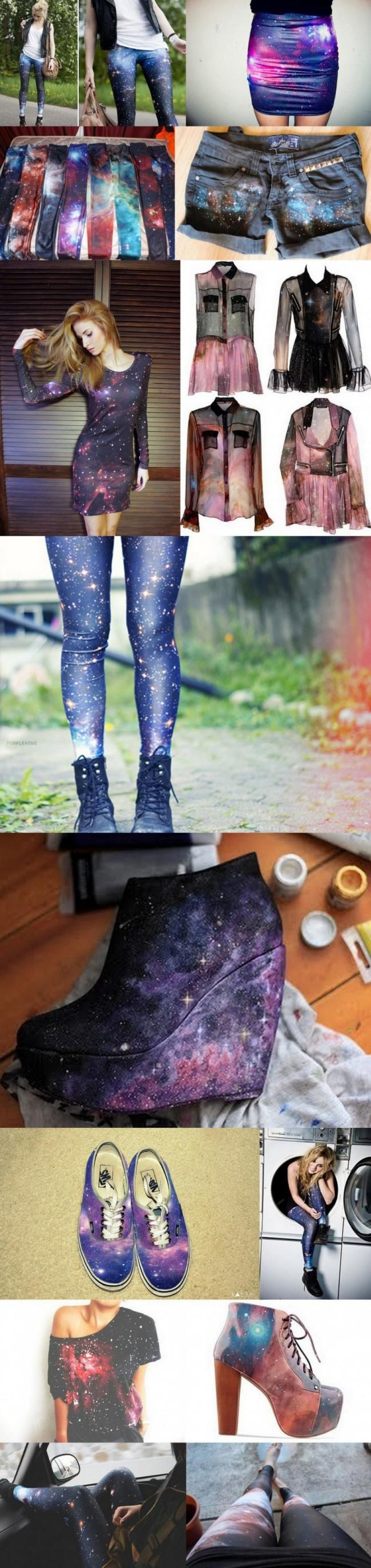 galaxy clothing