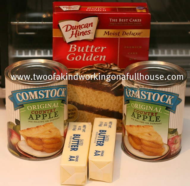EASY Apple Cobbler I'm going to have to make this one.