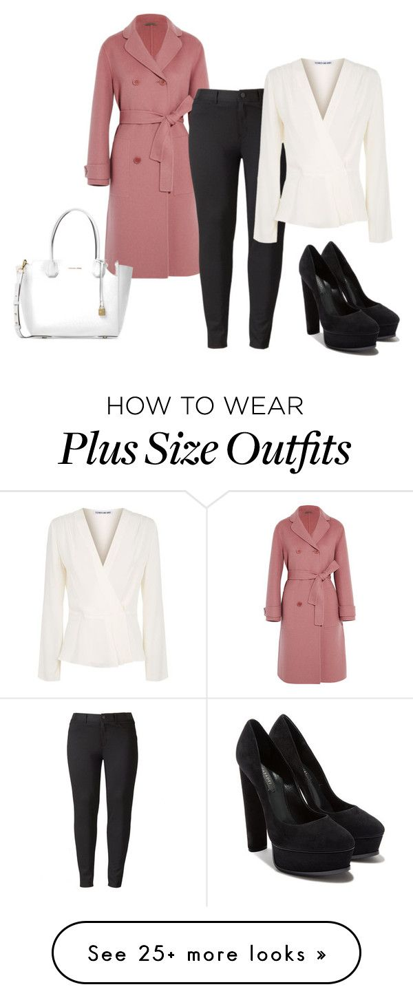 """""""151"""" by vicinogiovanna on Polyvore featuring Bottega Veneta, Simply Vera, Elizabeth and James, Casadei, Michael Kors and plus size clothing"""