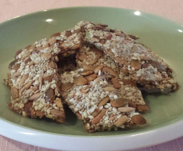 Recipe Superfood Crackers by The Power of Real Food - Recipe of category Baking - savoury
