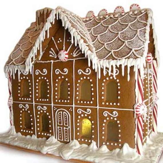 5 star hotel of ginger bread houses...