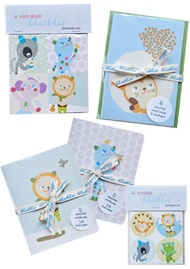 Stickers and Notebooks for little gifts.