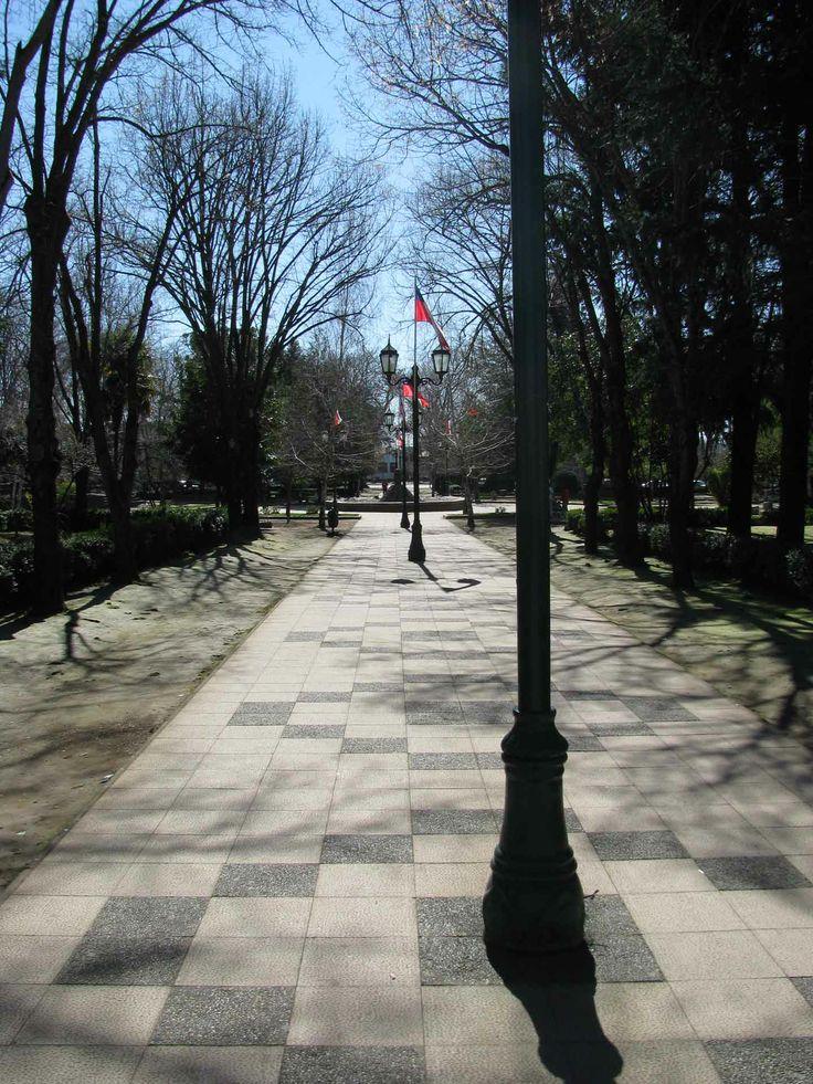 Plaza de Armas, Yungay
