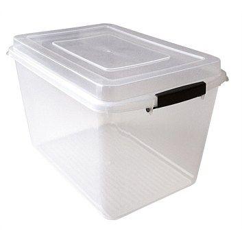 Storage Units & Solutions - Briscoes - Clear Storage Box 14L