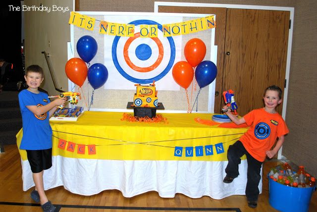 Zack's 9th Nerf Gun Birthday Party | Just Me Amy