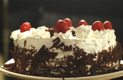 Eggless Black Forest Cake Recipe By Sanjeev Kapoor