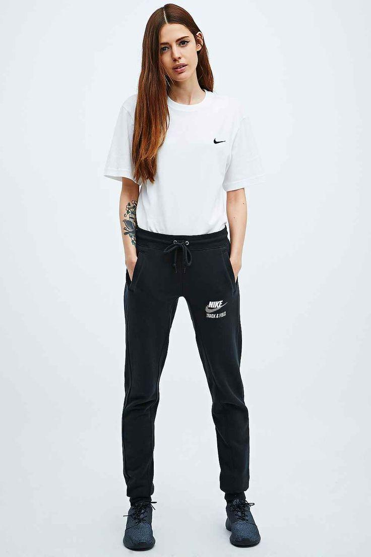 Nike Gym Vintage W pantalon de jogging noir chiné