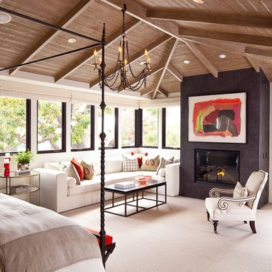 I like this layout of a master suite  Bedroom Design, Pictures, Remodel, Decor and Ideas - page 63