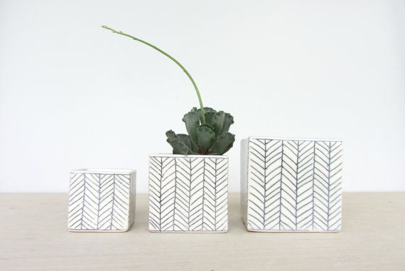 A little planter is a sweet little addition to anyones home. It is great for succulents or any small plant.  Each planter is cast from a home made