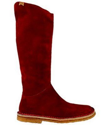 RED Camper Boots for me PLEASE!!!