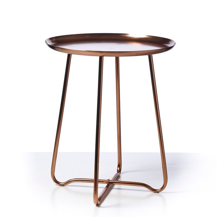 Copper Side Table Adairs