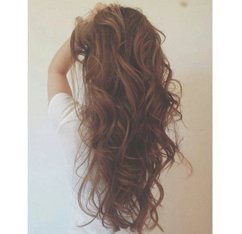 curly waves hairstyles long hair