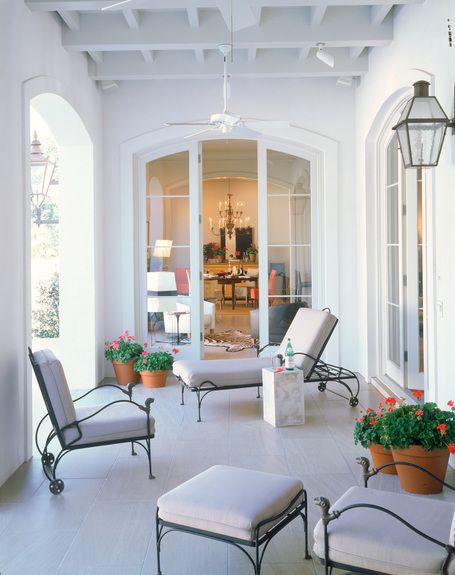 In Good Taste: Ken Tate - Design Chic#Homes #Garden #Porches