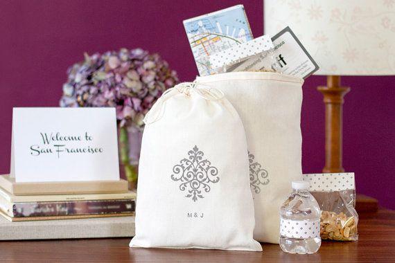 Wedding Weekend Gift Bag Ideas : wedding welcome bag wedding welcome bags welcome bags custom wedding ...