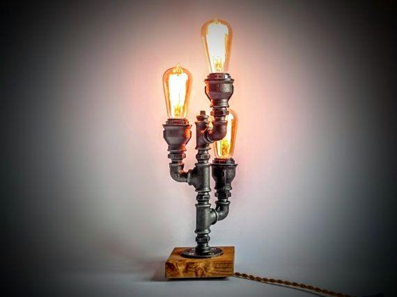 table lampe lampe tuyaux cadeaux dclairage table edison edison lampe lighting decor details dimensions dimensions 15 cord length