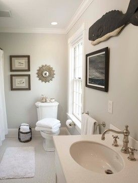 Edgecomb Gray by Benjamin Moore.  Rich light neutral that works beautifully in a variety of lighting situations (Color Palette Monday) The Creativity Exchange