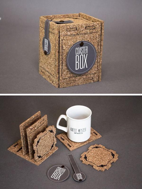 Bora tomar um café ecológico e criativo?  Designed by Melissa Rosenbloom