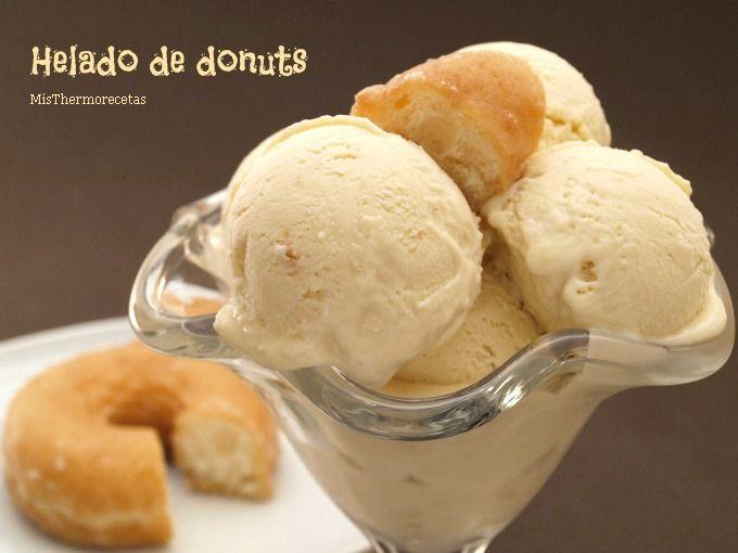 Helado de donuts - MisThermorecetas