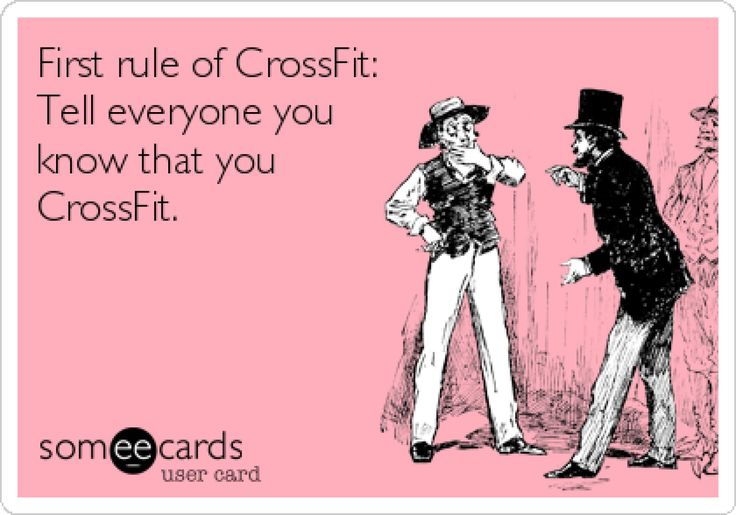 or just the gym people in general...did ya want a high five or something??