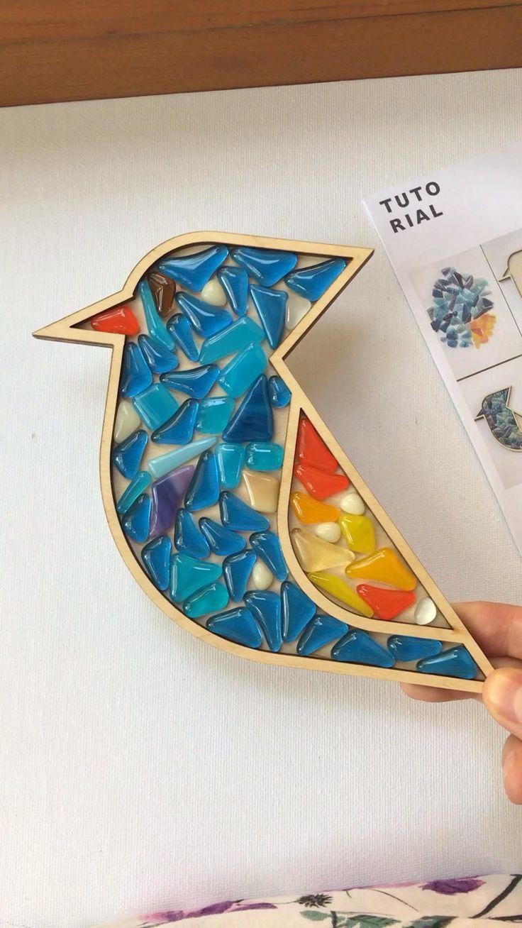 Diy mosaic art kit for beginners craft kits for kids