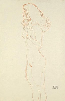 Standing Female Nude c.1907