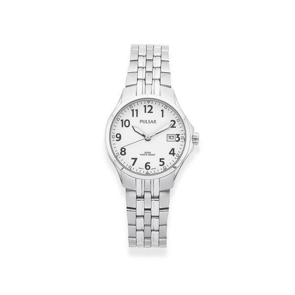 Pulsar Ladies Silver Tone Watch (Model: PH7221X)