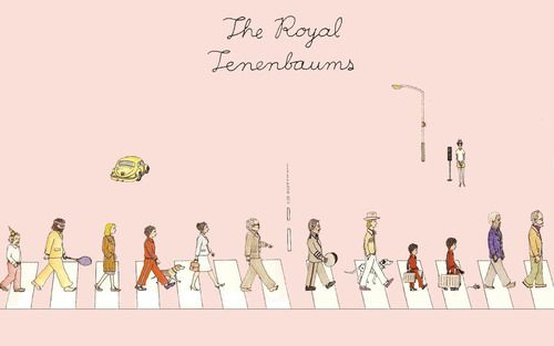 The Royal Tenenbaums Wes Anderson♥