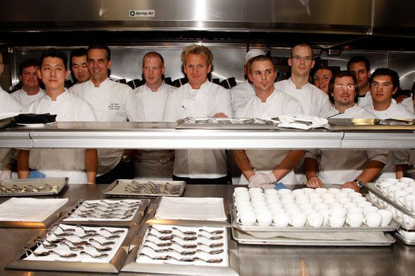 Eat at one of Gordon Ramsey's restaurants