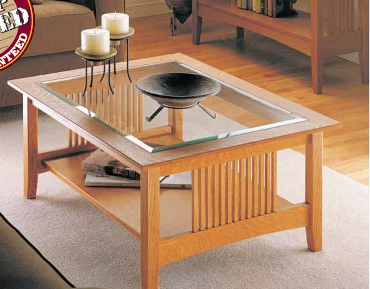 Craftsman Coffee Table Woodsmith Plans Pinterest Madeira Craftsman And Coffee