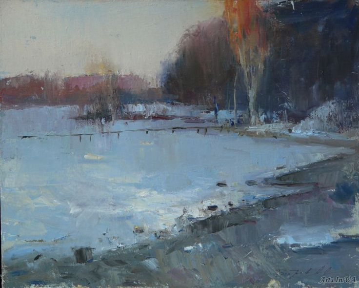 Зимний вечер - Бобров Александр