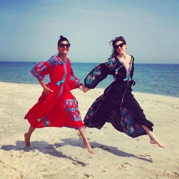 Джованна Батталья и ее вышиванки Vita Kin   Vogue Ukraine