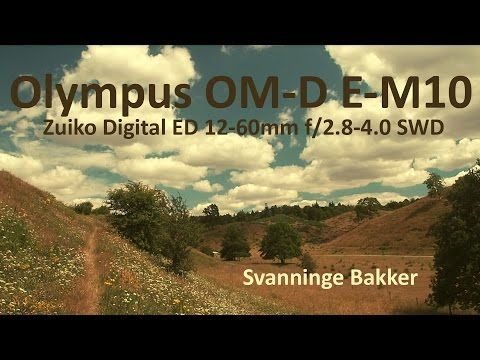 Svanninge Bakker - Walking the hills in July... - YouTube