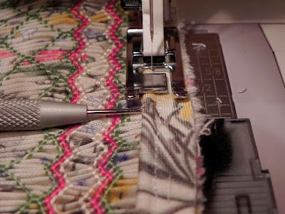 Tips for constructing a basic yoke style smocked dress