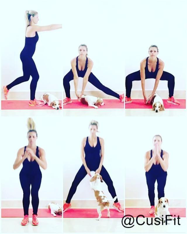 3 en 1 🔝🔥🔝🔥 Con 1 sola rutina, trabajas 3 partes de tu cuerpo! Glúteos, Piernas, Caderas.  Principiantes 2 series, intermedios 3 y avanzados 4 series. 1️⃣Lunge o desplante mixto. Hacia atrás y seguidamente hacia atrás pero cruzando la pierna  a su lado opuesto. 12 repeticiones.  2️⃣Sentadilla lateral solo con una pierna y la otra estirada lo más que puedas ). 12 con cada pierna.  3️⃣Sentadilla, seguida de elevación de pierna en forma lateral. 12 con cada pierna. 4️⃣Salto hacia adelante…