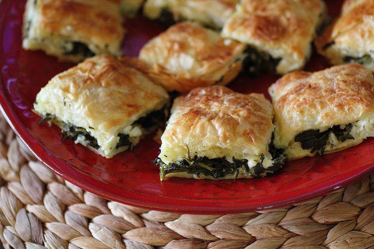 Adventuress : Turkish Borek Appetizer (using Cookin' Greens)