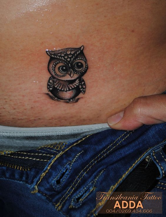 Small+Owl+Tattoos | Small Owl Tattoo by transilvaniatattoo66: