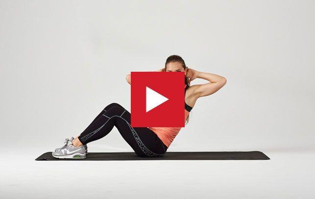 Bliv fit på 5 minutter med Anne Bechs træningsvideoer