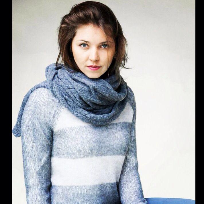 Stripes in winter! www.brebisnoir.com