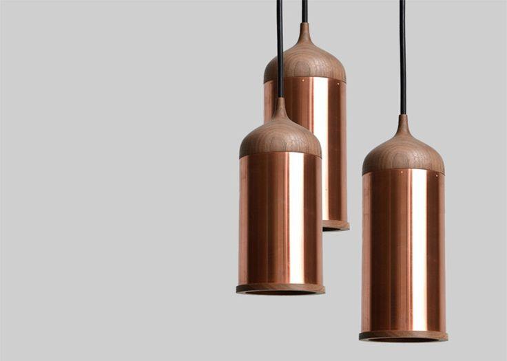 Copper and walnut lamp | Steven Banken The Method Case