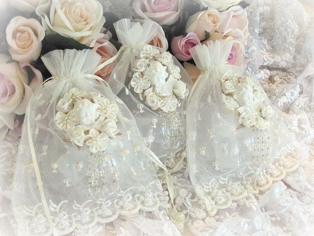 Victorian Sachet Pillows : Embroidered Cherub Sachets melie Pinterest Victorian, Style and Cherub