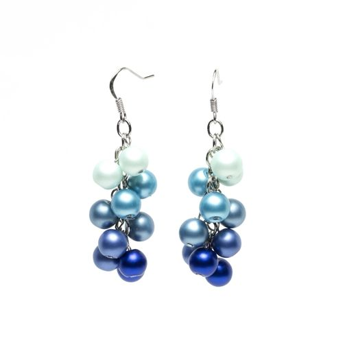 Bits and Pieces Pearl Cluster Earrings