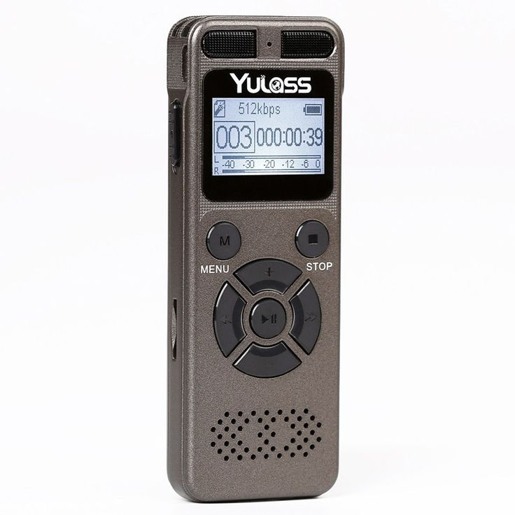 Big discount US $32.99  Yulass 8GB Professional Audio Recorder Business Portable Digital Voice Recorder USB Support Multi-language,Tf Card to 64GB  Available latest products: Samsung