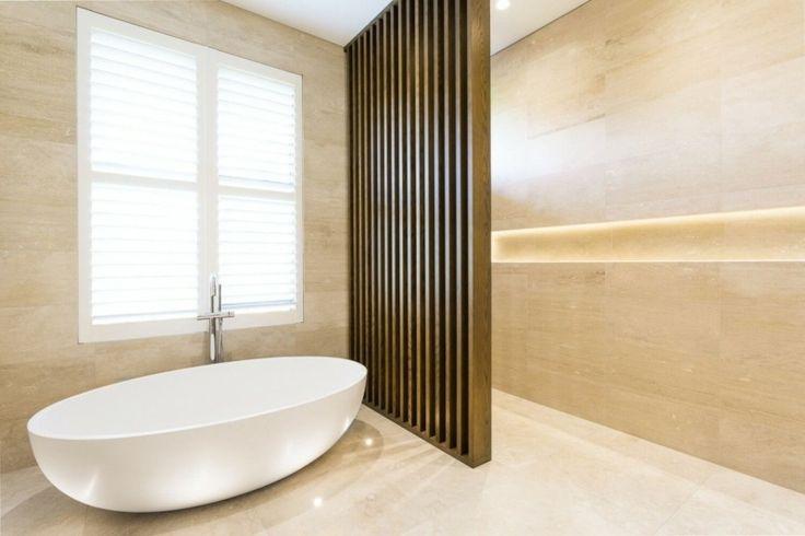 Les 25 meilleures id es concernant conceptions de for Salle de bain couleur sable
