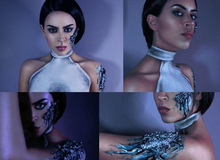 """Artificial Intelligence Inspired Makeup""  Mua Kλαίρη Δημοπούλου"