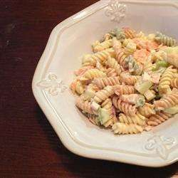 Pasta salad with smoked salmon recipe - All recipes UK