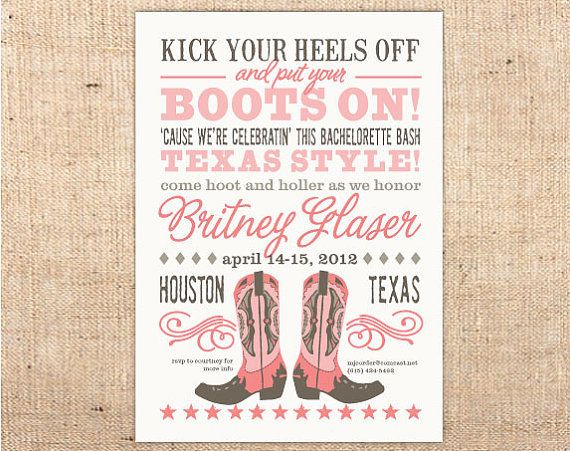 invite mels getting hitched bachelorette party invitations cowgirl bachelorette parties invitations