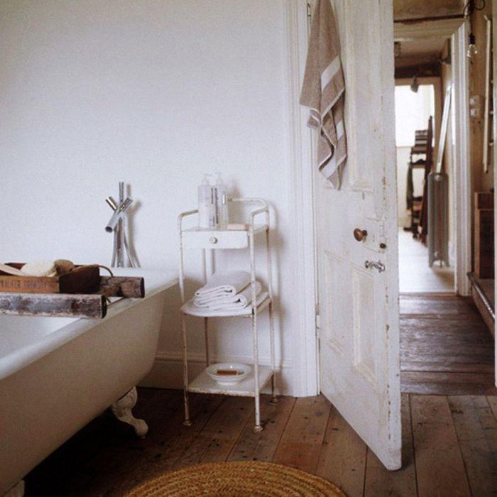 bathtime: Bathroom Design, Old House, Decor Bathroom, Vintage Wardrobe, Dreams Bathroom, White Bathroom, Bathroom Ideas, Bathroom Interiors Design, Bathroom Decor