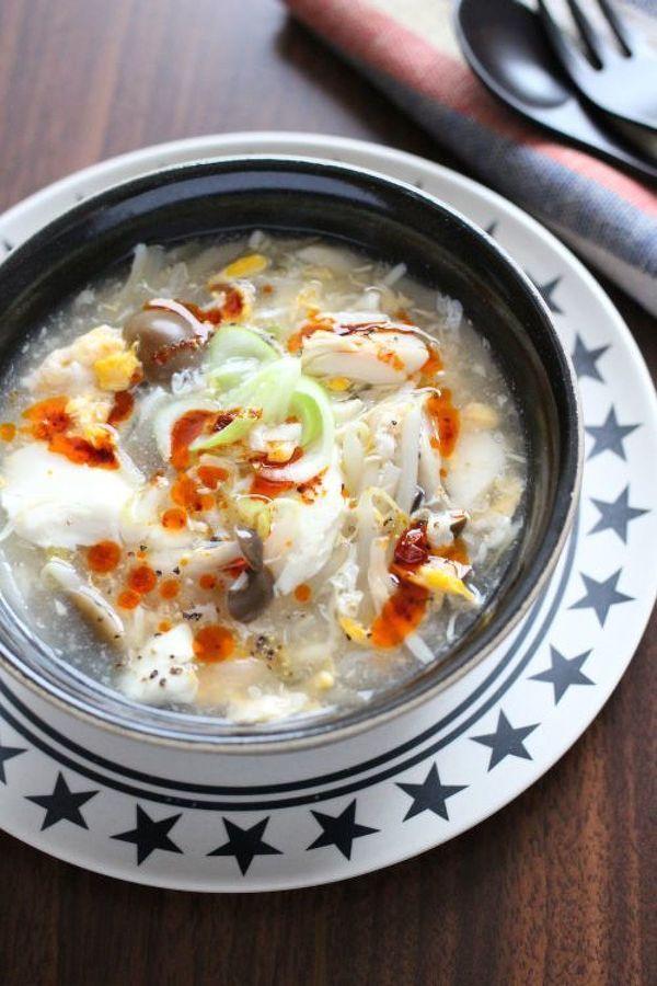 ウマウマ酸っぱ辛スープ「酸辣湯」で体ぽっかぽか! | レシピサイト「Nadia | ナディア」プロの料理を無料で検索