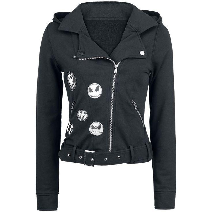 Nightmare Before Christmas Jack hoodie jacket Large NWT